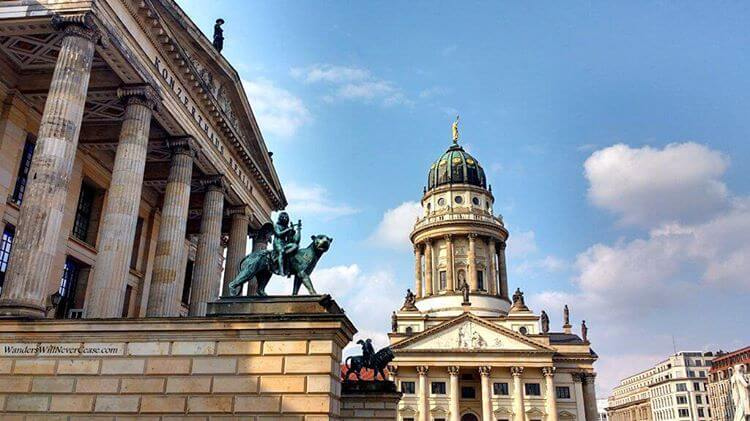 Another of my beloved Gendarmenmarkt! From the other side thishellip