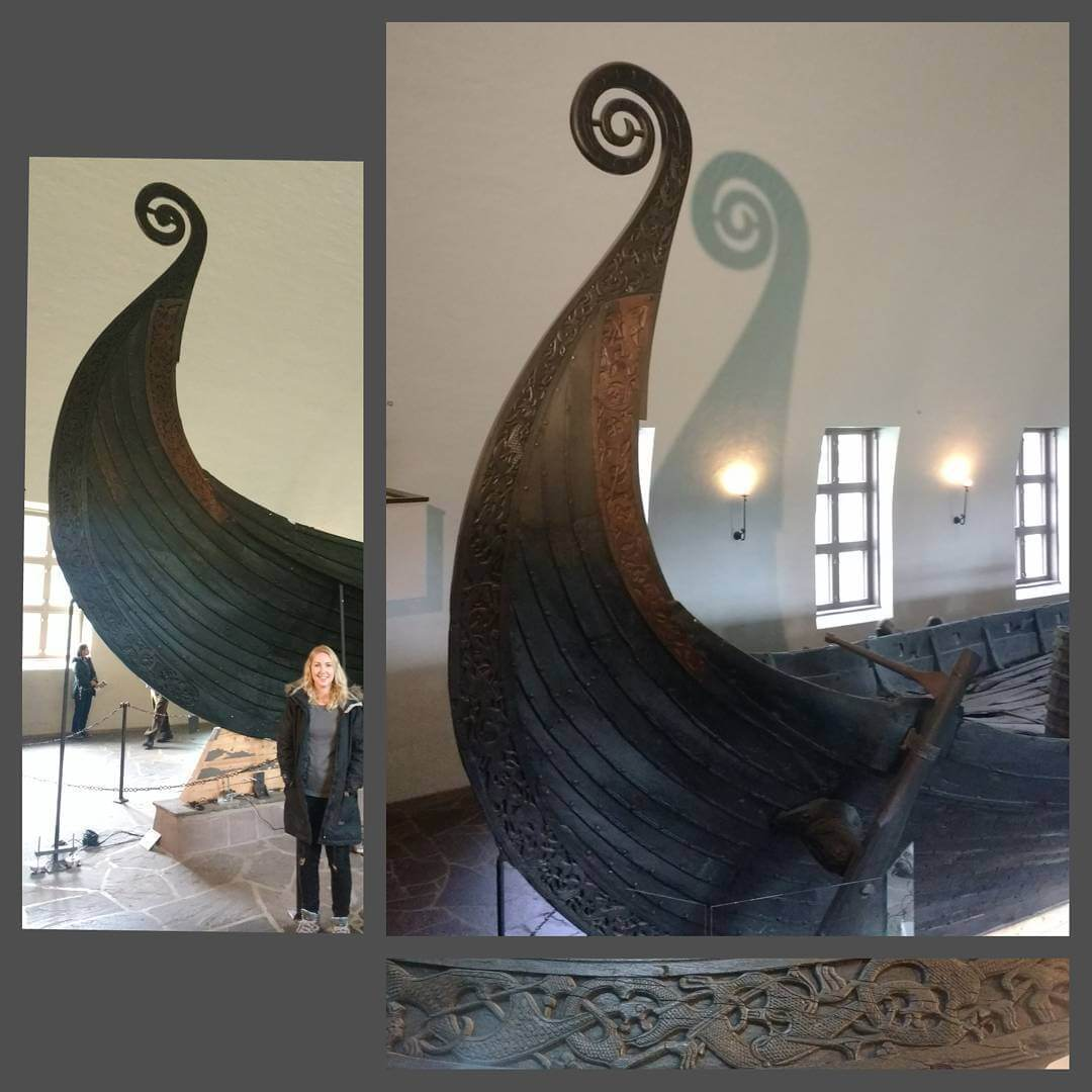 Took about a million photos at the Viking Ship Museumhellip