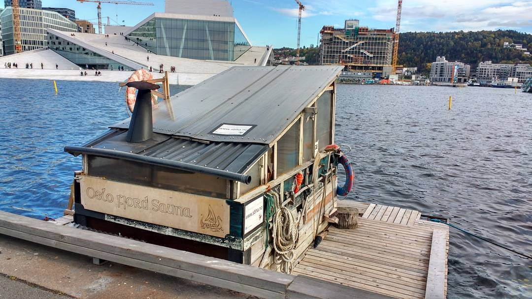 Fancy a go in this floating sauna with a viewhellip